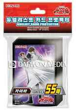"Yugioh Cards Sleeves [55PCS] ""Kaiba"" / KONAMI / Sealed"