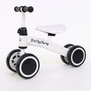 New 4 Wheels Kids Balance Tricycle Ride-on Bike Trike Pedal Free Baby Toddler
