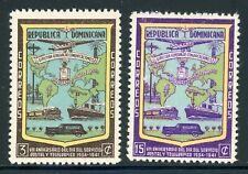 DOMINICAN REPUBLIC MNH Selections: Scott #381-382 Post & Telegraph Day CV$15++