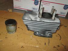 1972 Suzuki GT550 GT 550 left cylinder jug piston engine motor