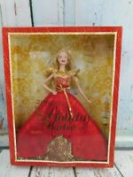 Barbie Collector 2014 Holiday Doll Blond NRFB