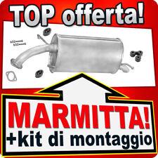 Scarico CHEVROLET AVEO KALOS DAEWOO KALOS 1.2 1.4 dal 2002 Marmitta TTF