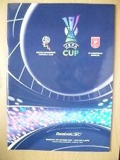 UEFA CUP PROGRAMME 2007- BOLTON WANDERERS v FK RABOTNICKI KOMETAL (ORG*,EXC)