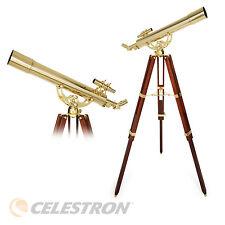 B-Ware Hochwertiges Teleskop Messing Refraktor 80/800 Ambassador 80AZ Celestron