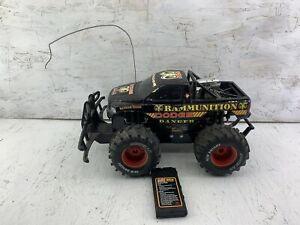 Vintage New Bright Rammunition Dodge Ram RC Car With Battery Untested