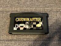 Chessmaster GBA (Nintendo Game Boy Advance, 2002) Ubisoft Authentic & TESTED