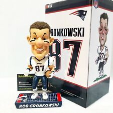 "ROB GRONKOWSKI New England Patriots ""Caricature"" Limited Edition Bobble Head*"