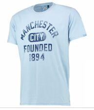Boys 4 5 años Manchester City 1894 Camiseta de Algodón Niños Fútbol hombre man am
