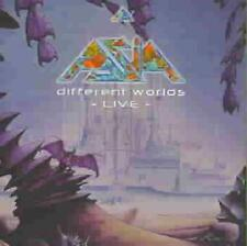 ASIA (ROCK) - DIFFERENT WORLDS: LIVE NEW CD