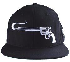 40 oz NYC New York Black White Smoking Guns Snapback Baseball Hat Cap NWT