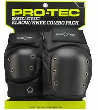 Pro-Tec Street Multi-Sport Knee AND Elbow Pads for Skateboard Longboard - SMALL