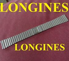 cinturino longines bracelet men's strap band watch 18 m stainless steel original