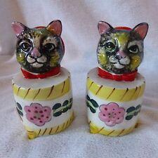 Holt Howard Cat Salt and Pepper Shaker Cryers