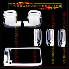 For CHEVY Express GMC Savana 2003-2015 Chrome Covers Set Mirrors+Doors+Tailgate