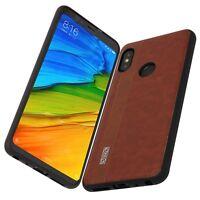 Cover Xiaomi Redmi Note 5 Global Antiurto Spessa Premium 3D Case Noziroh Leather