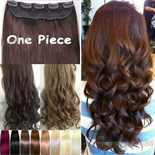 """Extra Thick 17/23/24/26/29/30"""" Long 3/4 Full Head Clip in on Hair Extensions M18"""