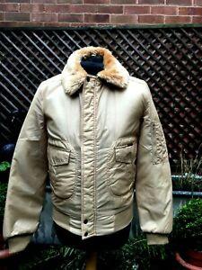 Vintage Retro 70s WRANGLER Nylon  zip bomber Casual jacket men's S