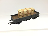 Electrotren 1107 HO Gauge RN Open Wagon with Cristal Crate Load