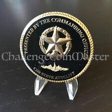 C21 USS Virginia SSN 774 Commanding Officer CDR Steve Antcliff Challenge Coin