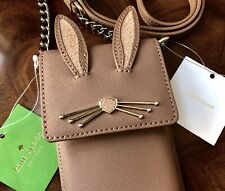 Last One NWT Kate Spade Bunny Rabbit North South Wallet iPhone Crossbody Bag