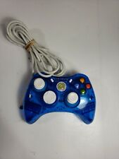 PDP Rock Candy Xbox 360 Wired Controller Blueberry Boom 037-010 Cord