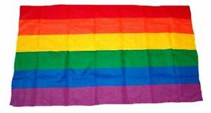 Fahne / Flagge Regenbogen 30 x 45 cm