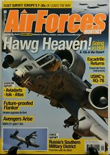 Air Forces Monthly Sept 2016 Hawg Heaven Going In Hot Aviation FREE SHIPPING sb