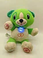 """Leap Frog My Pal Scout Singing Counting 13"""" Plush Puppy Dog Learning Toy"""
