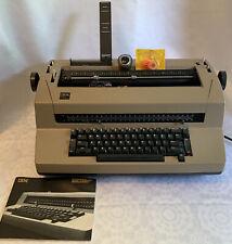 Vintage Ibm Correcting Selectric Iii Typewriter Repair Powers On Extra Element