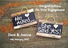 Personalised Engagement Congratulations Card