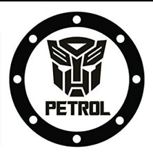 Transformers  Autobot Fuel Cap Vinyl Sticker