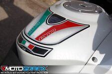 Ducati Multistrada 1200 2010 11 12 13 14 Tank Pad Motografix 3D Gel Protector