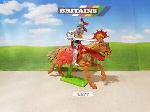 Britains Deetail Mounted Crusader Knight (lot 3377)