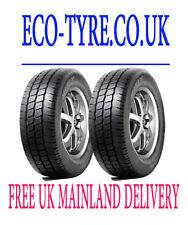 2X tyres 225 70 R15C 112/110R Hifly S2000 8PR  New VAN Tyre 225 70 15 M+S