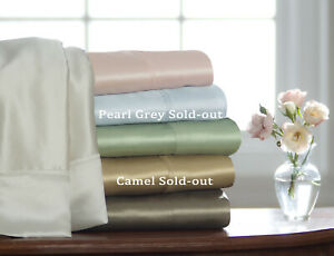 Price Reduced - Pure Silk Sheet Set - 19 Momme Satin Woven - 4 colors & 3 sizes