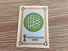 Panini Argentina 78 WC  1978 - NO. 133 Germany Shield Logo -  Rec