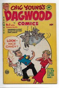 Dagwood Comics #5 1951 8.5 VF+ NICE!