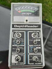 Teknetics 7500 Vintage Metal Detector depth reader unit only