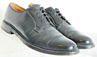 Florsheim Royal Imperial Black 5-Nail V-Cleat Pebbled Shoes 603774 Men's US 9 C