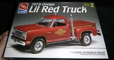 AMT 1978 DODGE PICKUP LIL RED EXPRESS 1/25 Model Car Mountain KIT FS