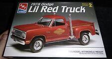AMT 1978 DODGE PICKUP LIL RED EXPRESS 1/25 Model Car Mountain KIT FS
