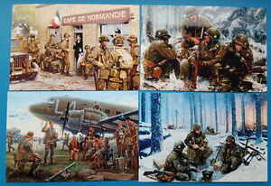 4 x 101st Airborne D-Day Carentan Battle of the Bulge picture Easy Company