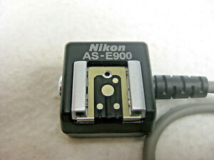 Nikon AS-E900 Multi-Flash Adapter f/ Coolpix 900 Series Digital Camers