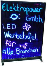 LED Schreibtafel Licht-Tafel/Werbetafel/Beleuchtung/Writing Board 70x50x1,2cm //