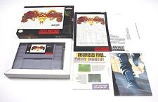 Shadowrun Super Nintendo 100% Complete in Box *very Good* Fast Shipping