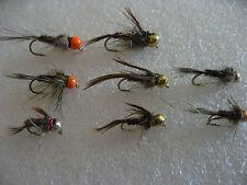 !OFERTA!16 ninfas tungsteno, anzuelo con muerte. Pesca a mosca. FLY FISHING (14)