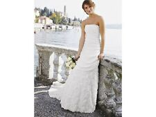 NICHOLAS MILLINGTON Corsage Wedding Dress Size 8 £499