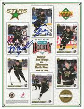 Dave Gagner & Bobby Smith Signed 1991 North Stars All Time 8x10 Photo /19000