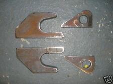 More details for jcb q-fit (quick hitch) weld on brackets (set)