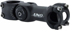 Kalloy Uno 820 Adjustable Stem, 25.4 x 110mm, Sandblast Black